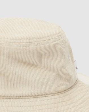 Quiksilver Mens Cord Noggin Bucket Hat - Hats (INCENSE)