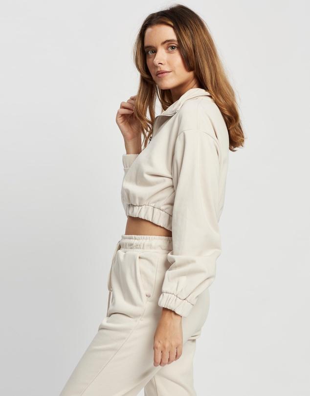 Women Half-Zip Sweatshirt
