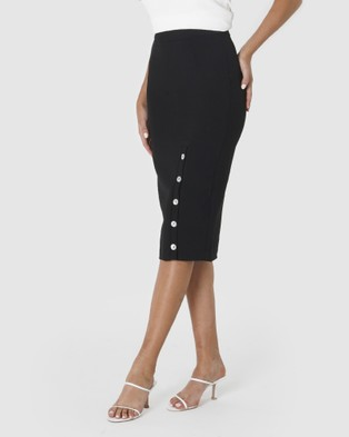 Amelius Keegan Skirt - Pencil skirts (Black)