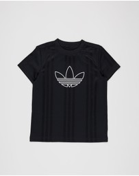 adidas Originals - Outline Jersey T-Shirt - Kids