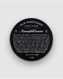 Triumph & Disaster - Old Fashioned Shave Cream Jar