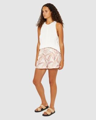Jag Coco Knit Tank - T-Shirts & Singlets (white)