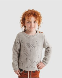 Wild Island - The Windswept Pullover - Babies-Kids