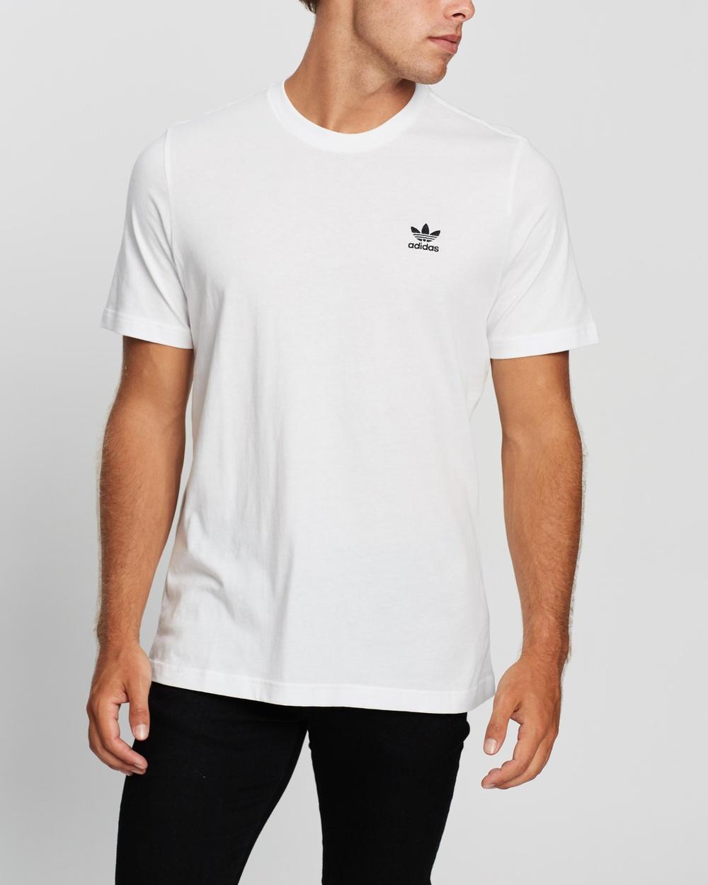 adidas Originals Essential Tee T-Shirts & Singlets White