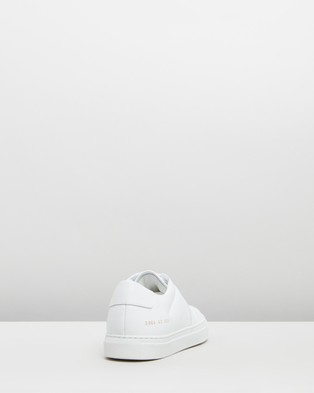 Common Projects Bball Low Leather   Women's - Sneakers (White)