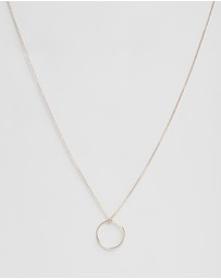 By Charlotte - 14k Gold Purity Necklace