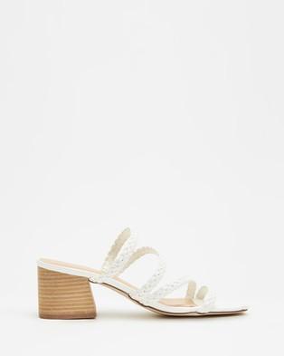 Therapy Ilex - Mid-low heels (White)