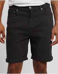 Staple Superior - Organic Cotton Five Pocket Shorts