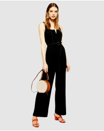 TOPSHOP - Hexagon Trim Jumpsuit