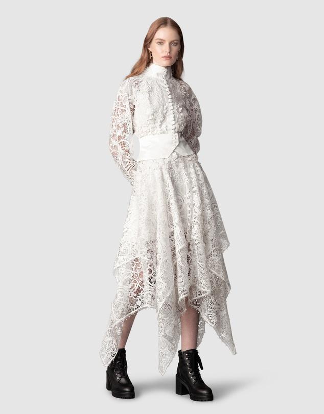 Women Transcendence Rose Lace Dress