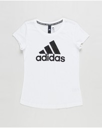 adidas Performance - Must Haves Band of Sports Tee - Teens