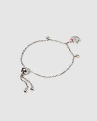 Izoa Kids Unicorn Bracelet - Jewellery (Silver)