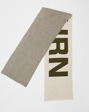 Christopher Raeburn Knit Scarf - Scarves & Gloves (Off White)