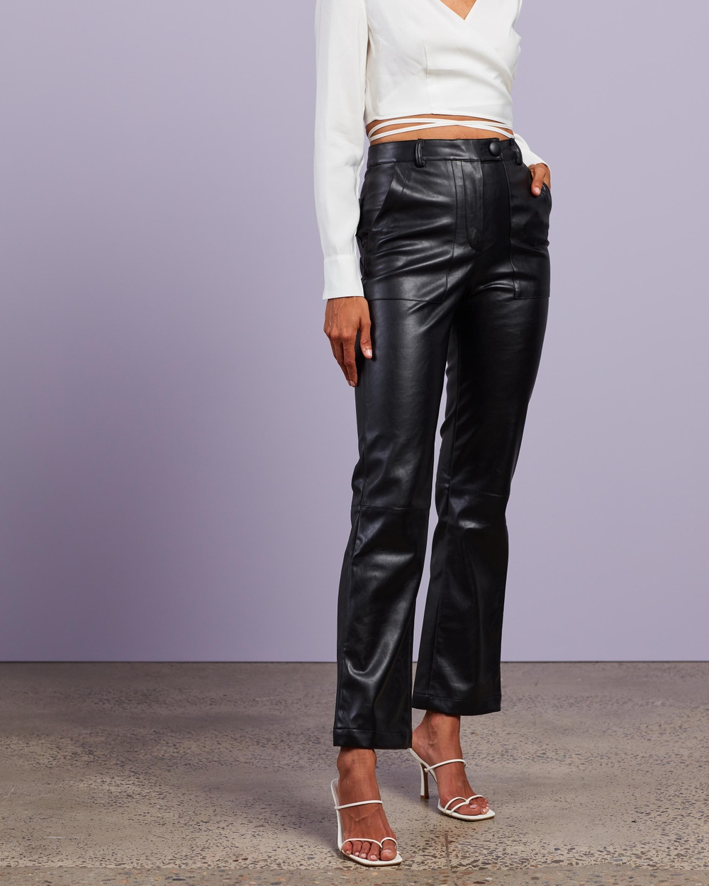 4th & Reckless Kayden Trousers Pants Black