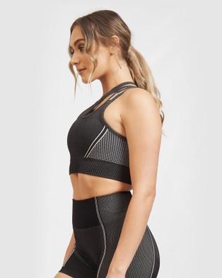 Core Trainer Lulu Active Bra - Sports Bras & Crops (Charocal)