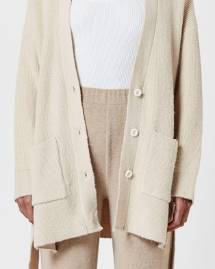 MVN Home Lounging Cardi - Jumpers & Cardigans (Beige)
