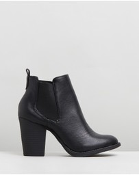 SPURR - ICONIC EXCLUSIVE - Jacinta Gusset Ankle Boots