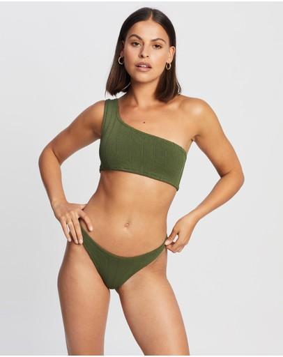 Hunza G Nancy Nile Bikini Set Khaki