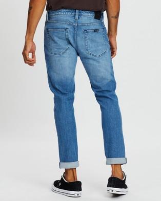 Rolla's Rollies Jeans - Slim (Organic Burner Blue)