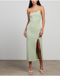 Bec + Bridge - Fleur Asymmetric Midi Dress