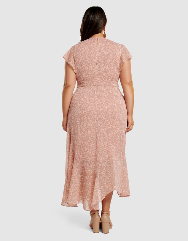 Forever New Curve - Rhianna Curve Lurex Maxi Dress