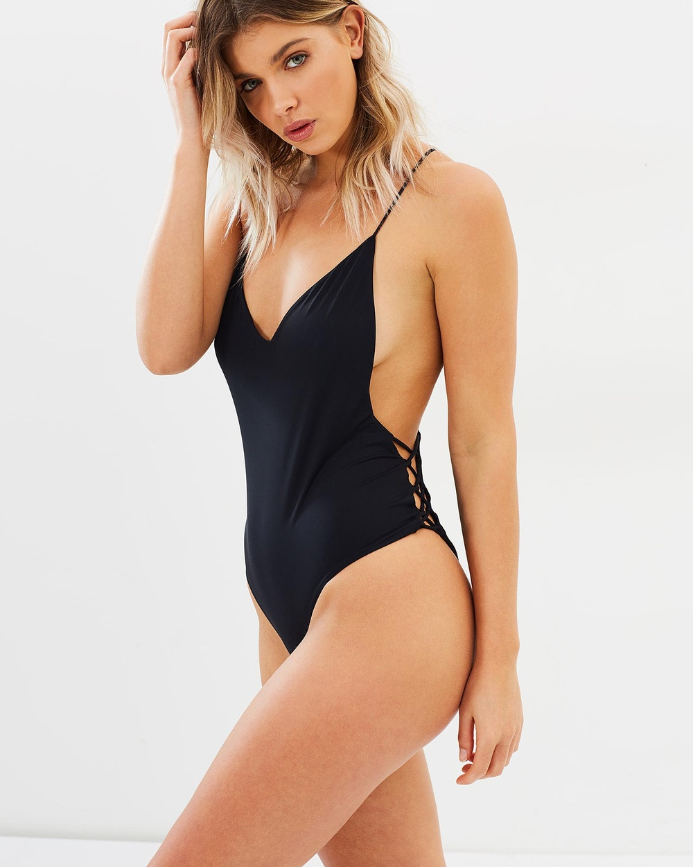 Bond-Eye Swimwear Up And Away One Piece One-Piece / Swimsuit Black Up And Away One Piece