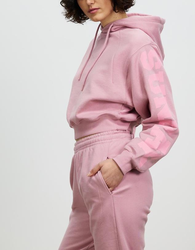 Women  Viola Cropped Hoodie