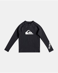 Quiksilver - Boys 2-7 All Time Long Sleeve UPF 50 Rash Vest