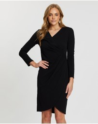 Dorothy Perkins - Manipulated Wrap Bodycon Dress