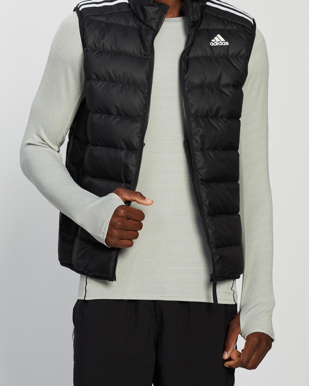 adidas Performance Essentials Down Vest Coats & Jackets Black