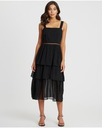 The Fated - Disposition Midi Dress