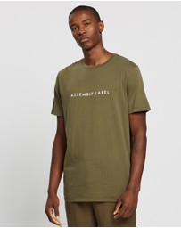 Assembly Label - Logo Tee