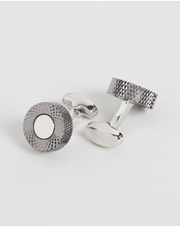 Kavalri - Abstract Circular Cufflinks