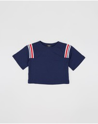 Bardot Junior - Wren Panel Tee - Teens