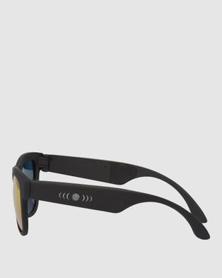 Friendie Frames Classic Audio Sunglasses - Tech Accessories (Ruby Red Polarised)