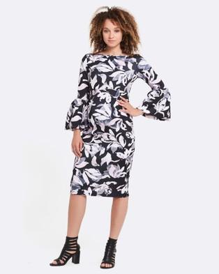 Soon Maternity – Myra Ruffle Maternity Dress – Dresses (Blush Pink)