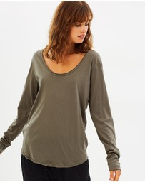 Nude Lucy - Quinn Scoop Neck Tee