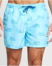 ORIGINAL WEEKEND - Holiday Van Swim Shorts