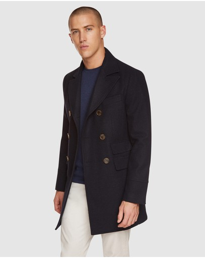 Oxford - Grant Checked Overcoat