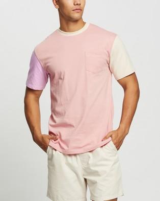 Double Rainbouu - West Pocket Tee   Unisex - T-Shirts & Singlets (Neapolitan) West Pocket Tee - Unisex