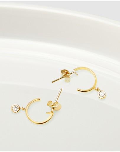 Luna Rae Solid Gold - Diamond Sky Earrings