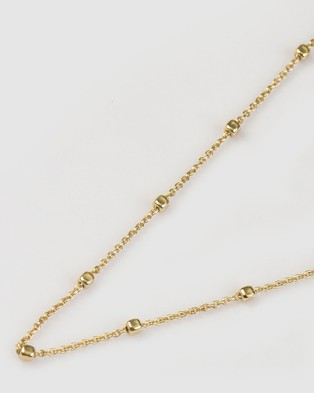 Marlafiji Uma Box Chain - Jewellery (Gold)