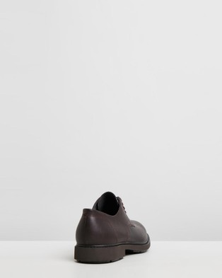 Camper - Neuman Dress Shoes (Dark Brown)