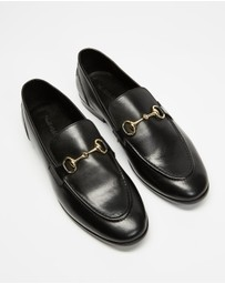 Double Oak Mills - Garnet Leather Loafers