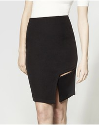 ARIS - Square Cut-Out Skirt
