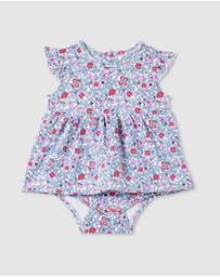 Milky - ICONIC EXCLUSIVE - Antique Floral Dress - Babies