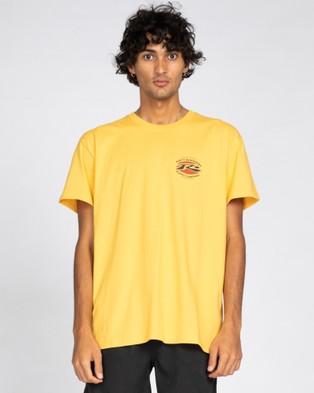 Rusty Graffito Short Sleeve Tee - T-Shirts & Singlets (OCH)
