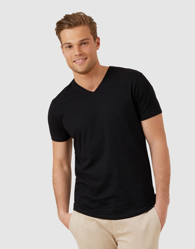 French Connection - Classic V Neck T Shirt