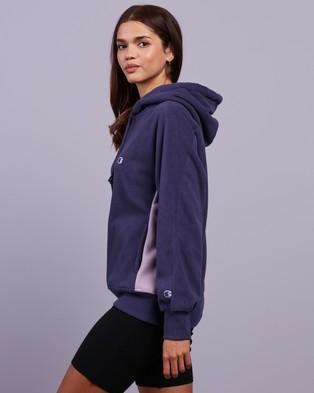 Champion Rochester Polar Hoodie Hoodies Purple