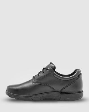 Ascent Apex   2E Width - School Shoes (Black)